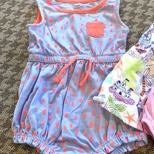 Cat & Jack Matching Sets - Lot of 2 Cat and Jack outfits